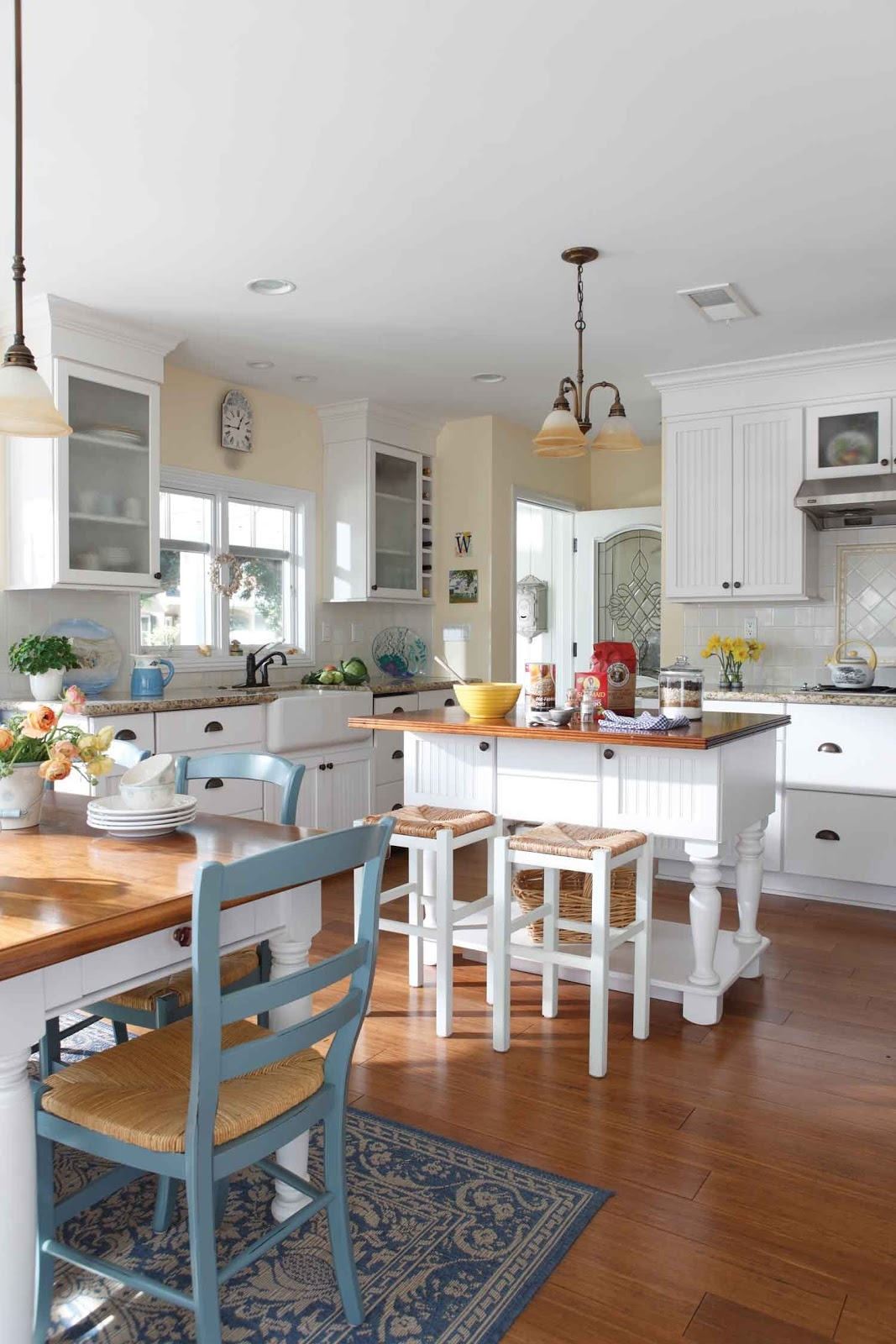 Cottage Kitchen Decorating Pictures
