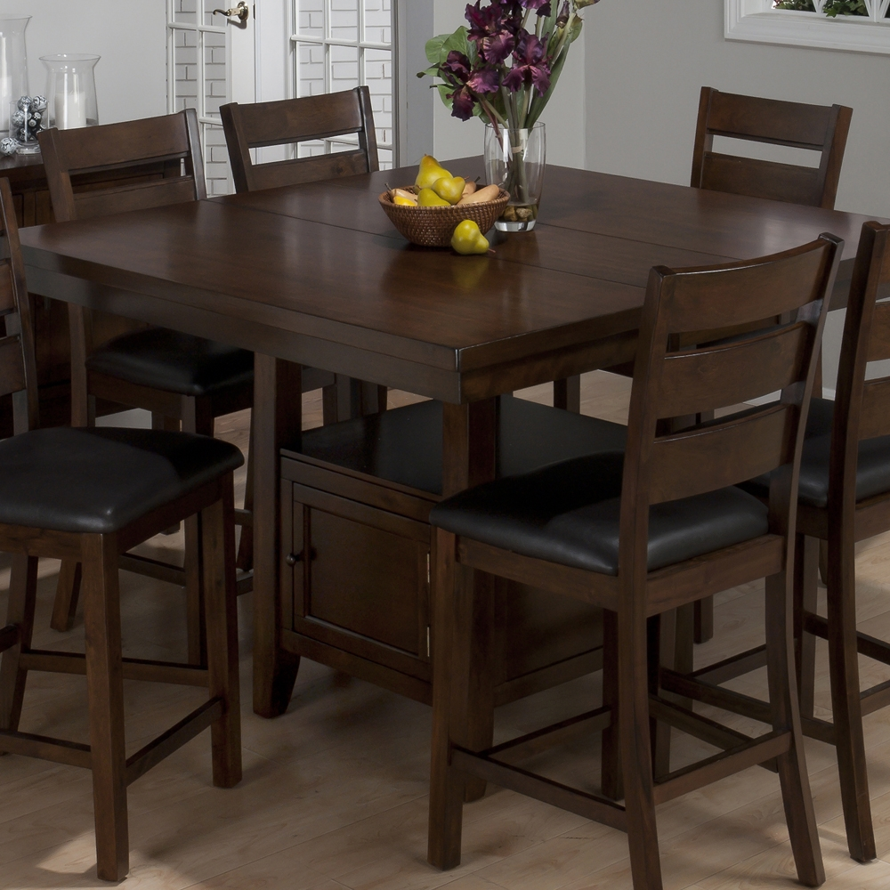 Counter Height Kitchen Table Sets With Storage