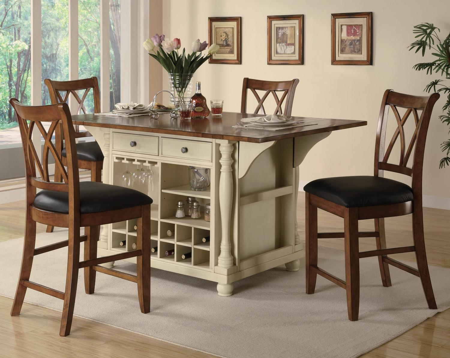 Counter High Kitchen Table Sets
