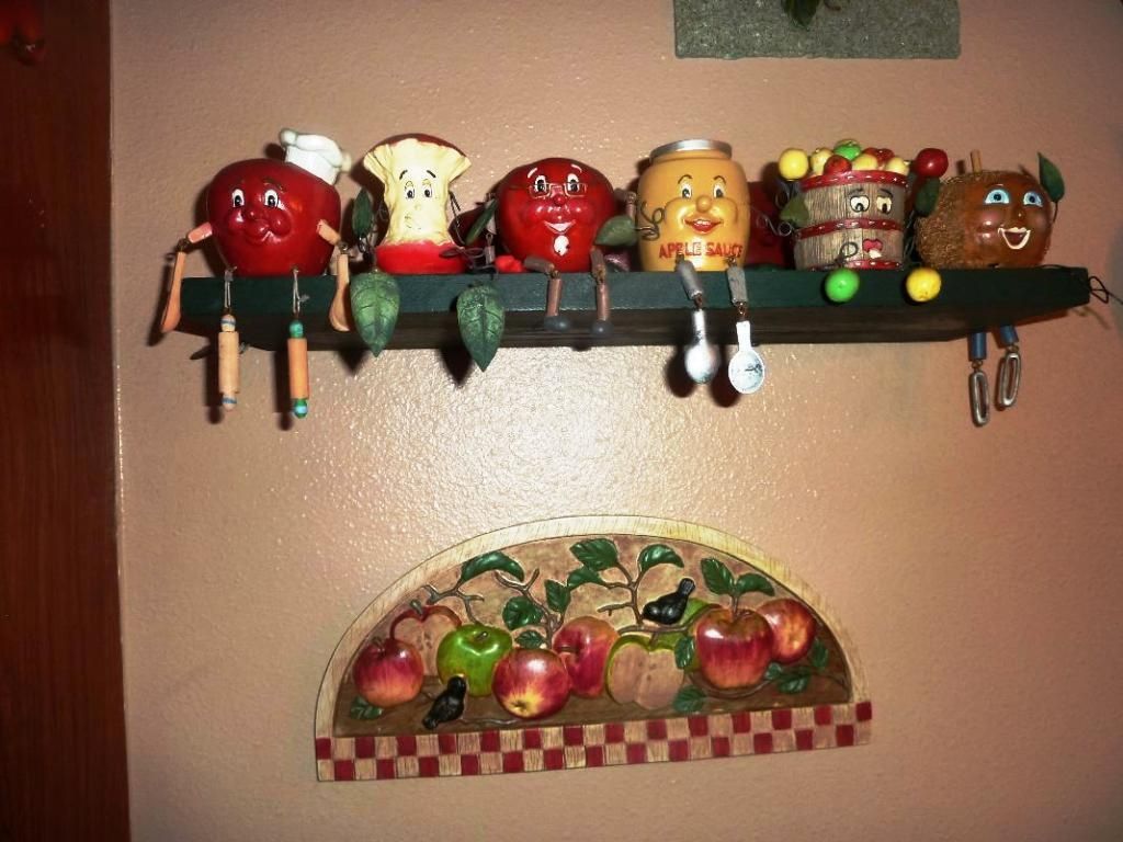 Country Apple Decorations For Kitchen