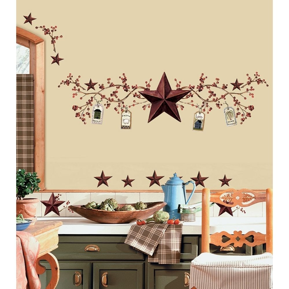 Country Star Decor For Kitchen