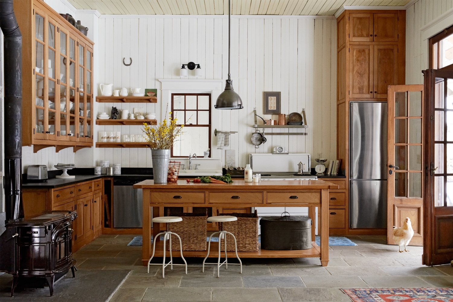 Country Style Decorating Ideas For Kitchens