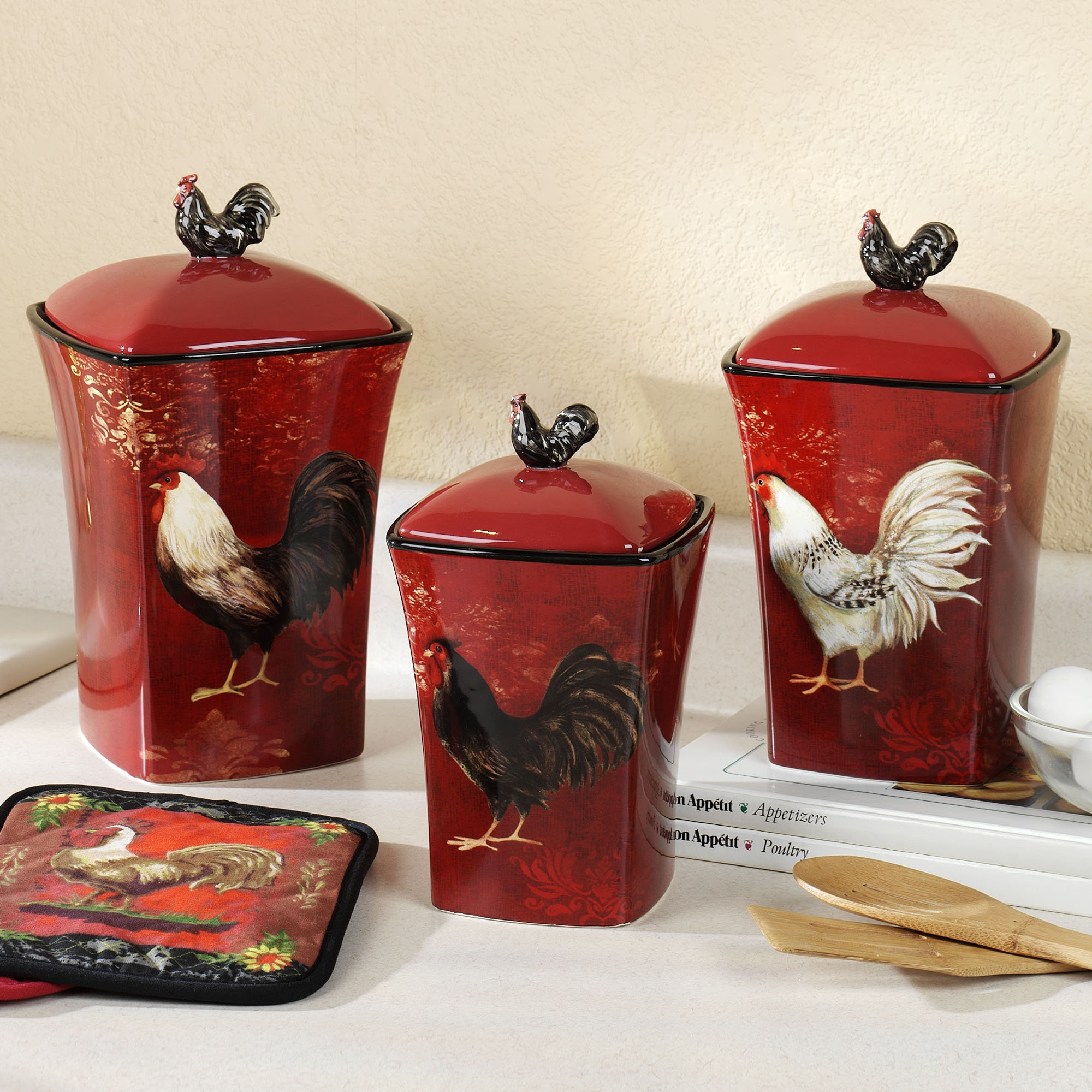 Country Style Kitchen Canister Sets