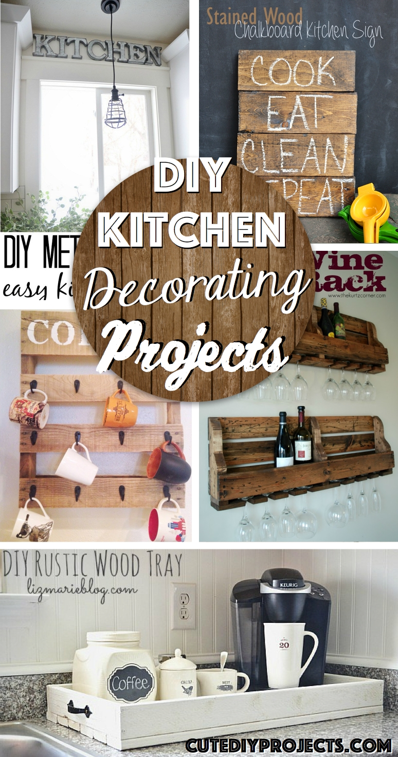 Craft Ideas For Kitchen Decorations774 X 1473