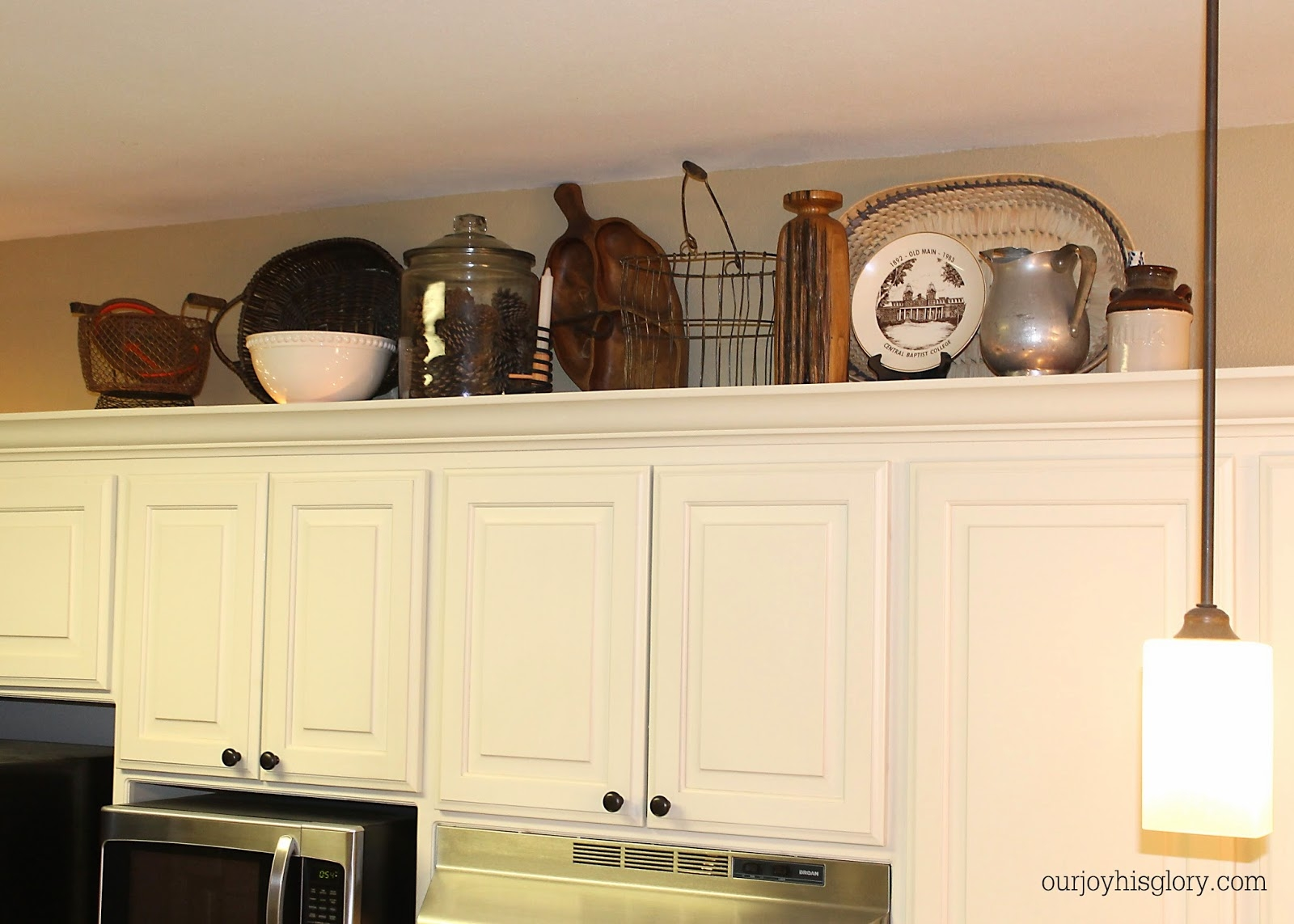 Decorate Top Of Kitchen Cabinets Photos