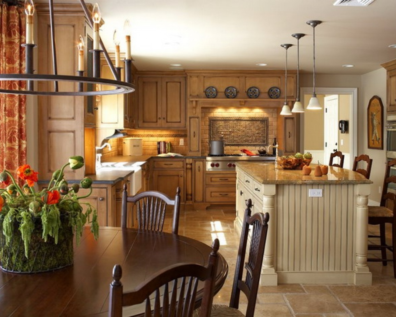 Decorating A Kitchen Country Style