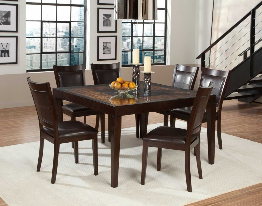 Decorating A Square Kitchen Table