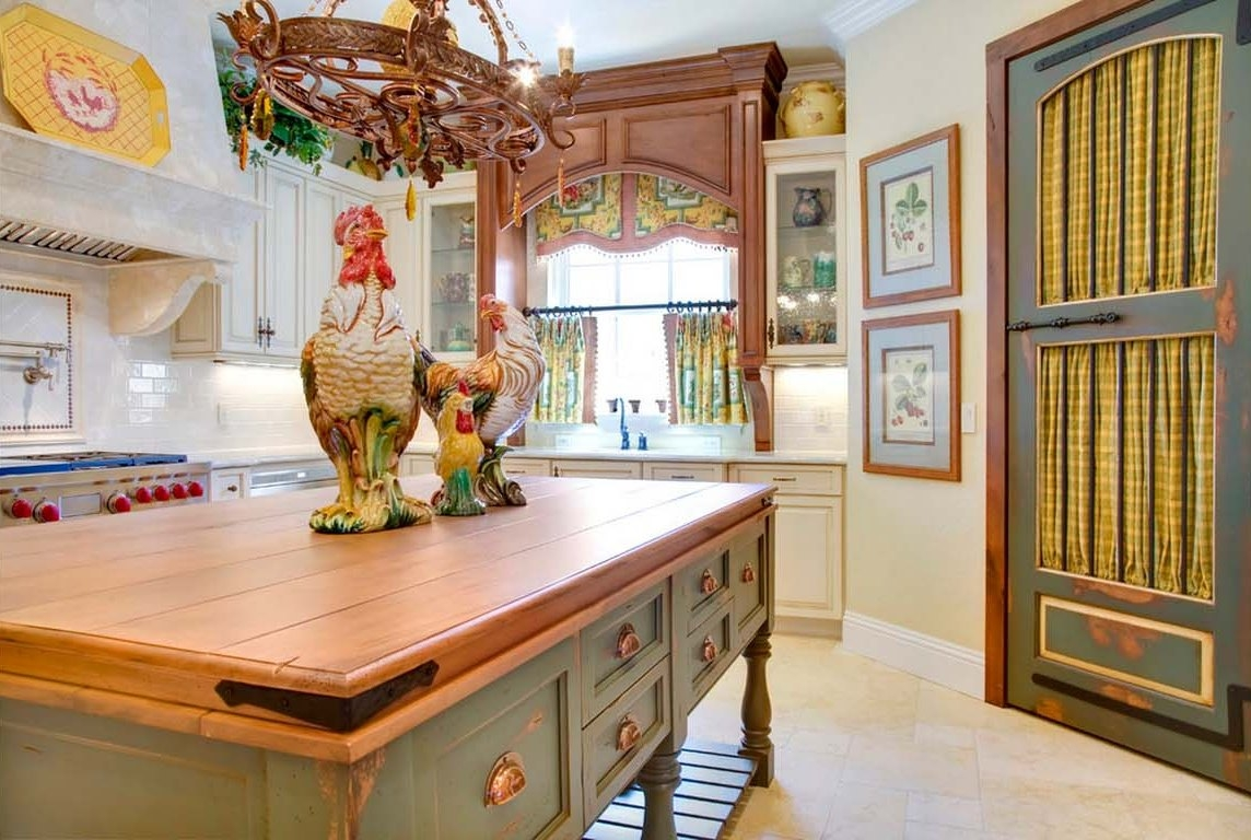 Decorating French Country Kitchen