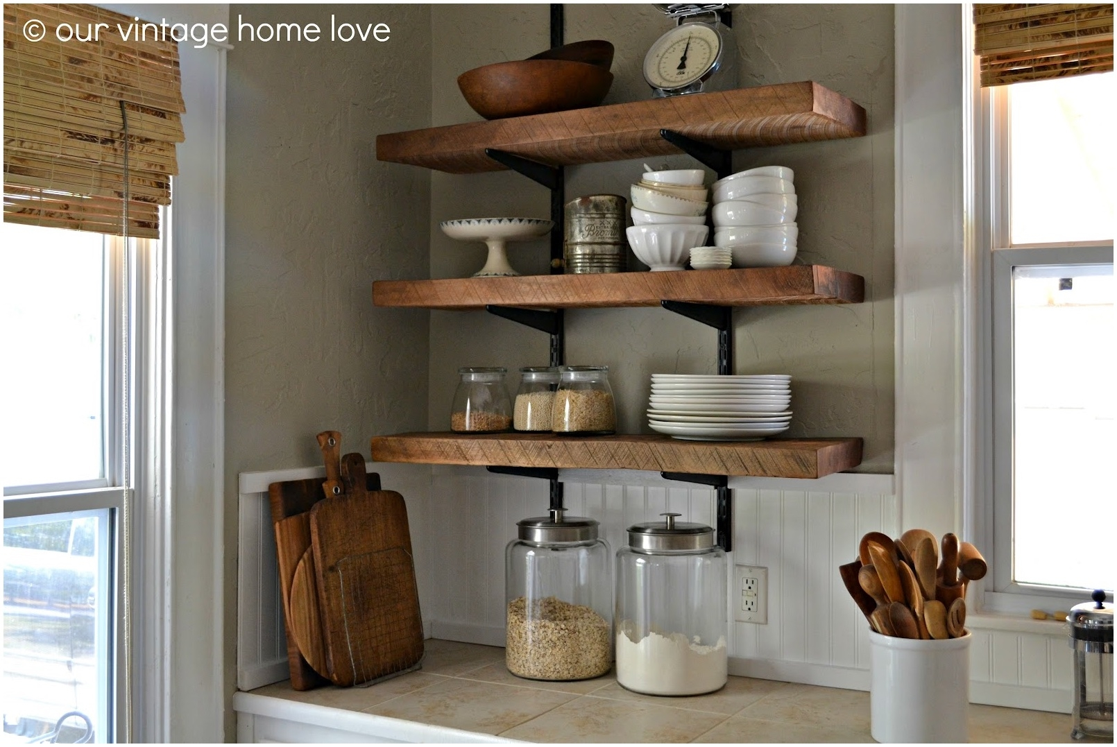 Decorating Ideas For Kitchen Plant Shelves Kitchen Decor Sets