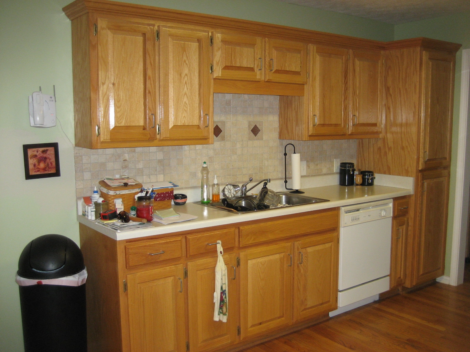 Decorating Ideas For Kitchens With Oak Cabinets
