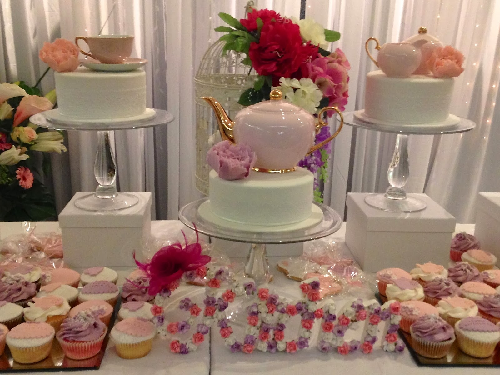 Decorations For A Kitchen Tea Party