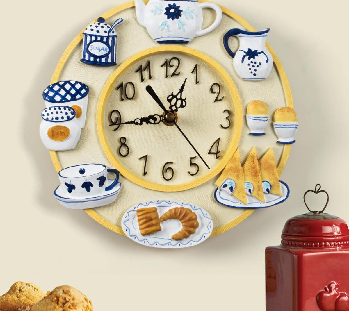 Decorative Kitchen Wall Clock
