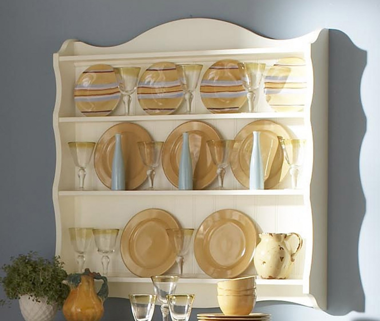 Decorative Plates For Kitchen Display