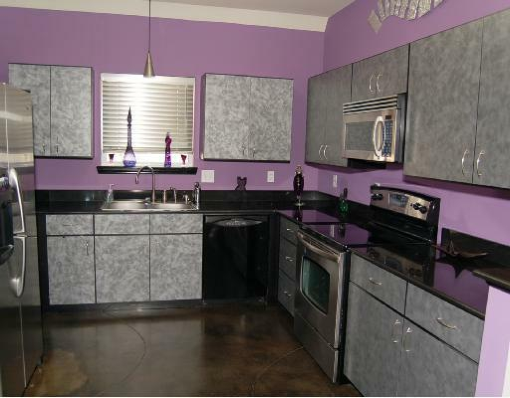 Eggplant Colored Kitchen Decor
