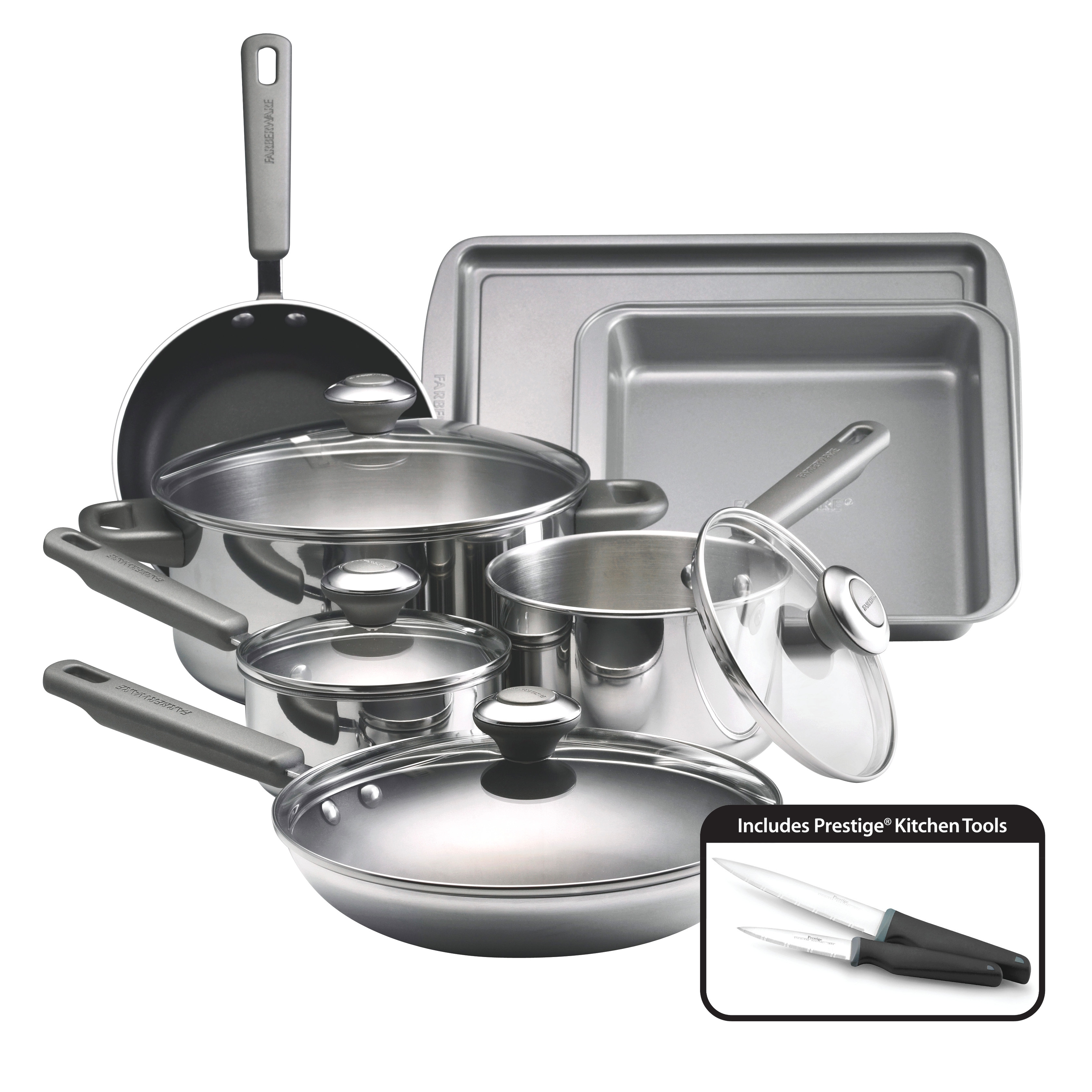 Permalink to Ever Silver Kitchen Set