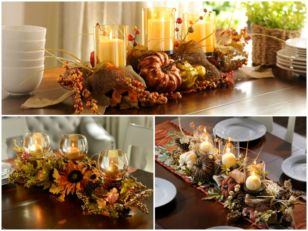 Fall Kitchen Table Decorations