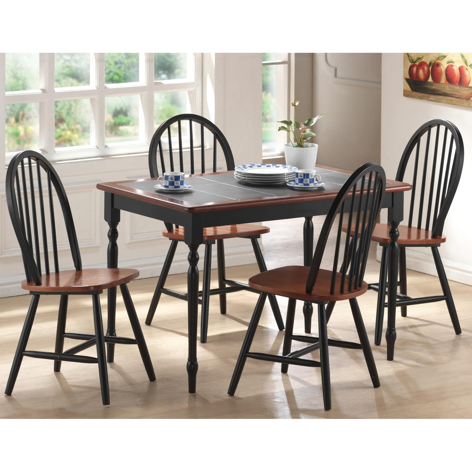 Farmhouse Kitchen Table And Chairs Sets