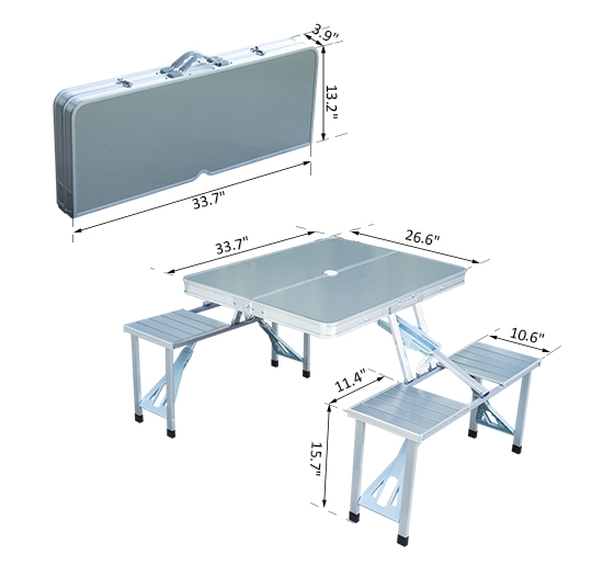 Permalink to Folding Camping Table And Kitchen Set