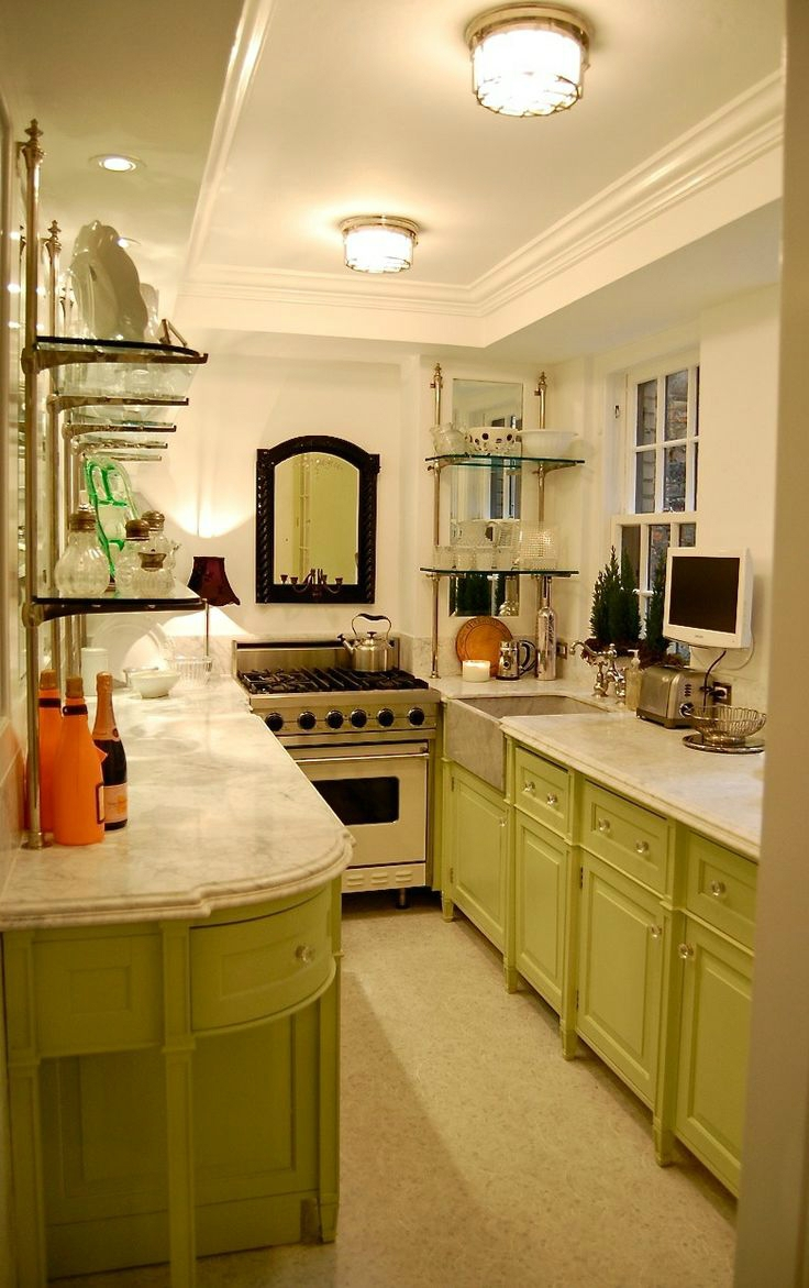 Galley Kitchen Decorating Pictures