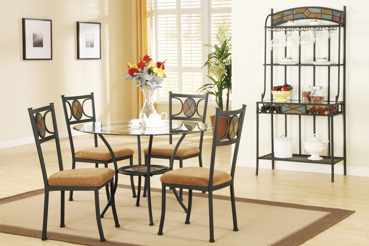 Permalink to Glass Top Round Kitchen Table Sets