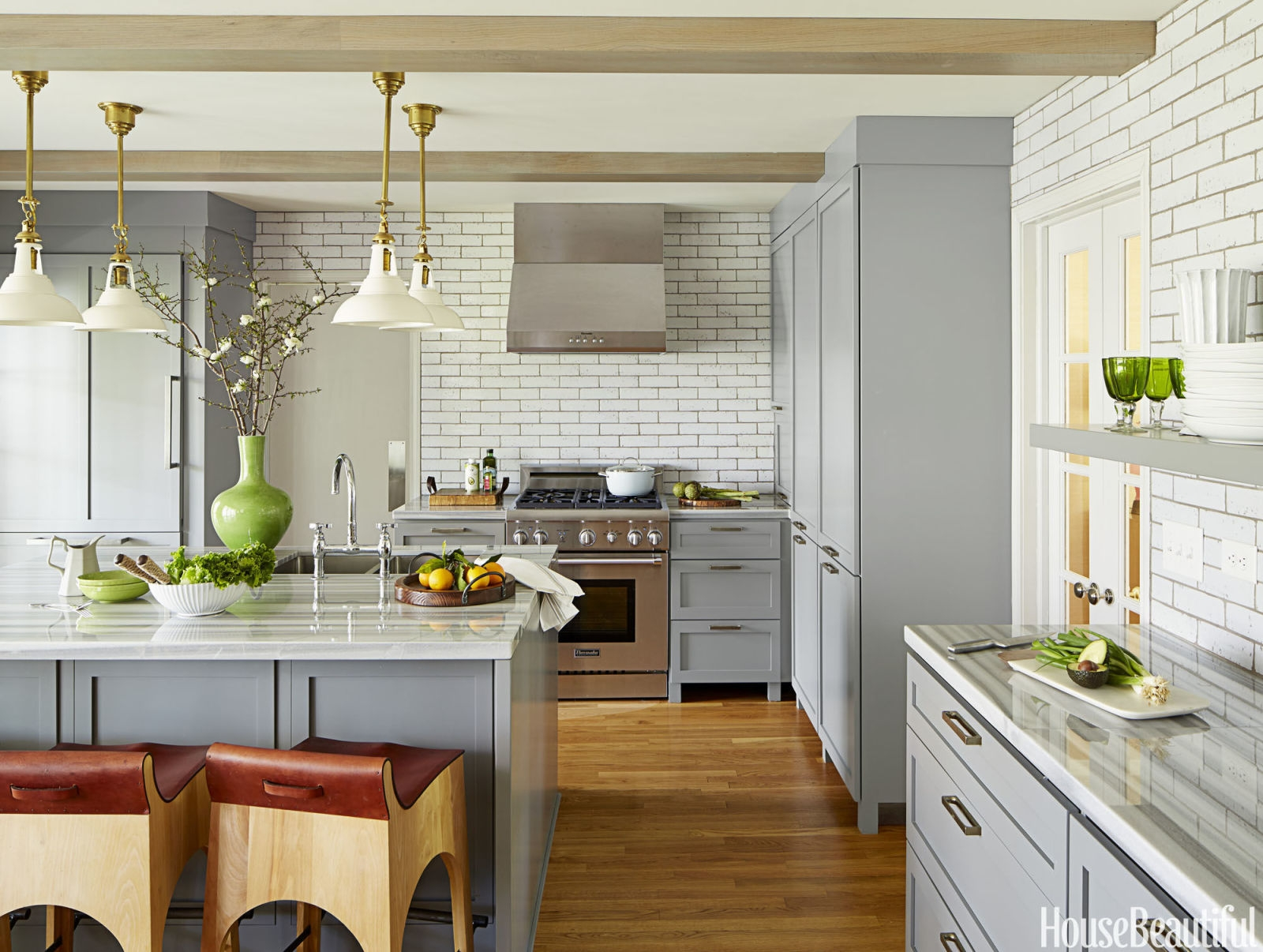 Ideas Decorating Kitchen Counters