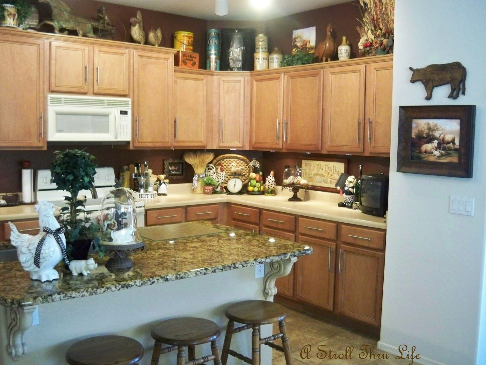 Ideas For Kitchen Counter Decorations