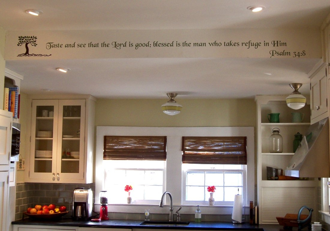 Ideas To Decorate A Kitchen Soffit
