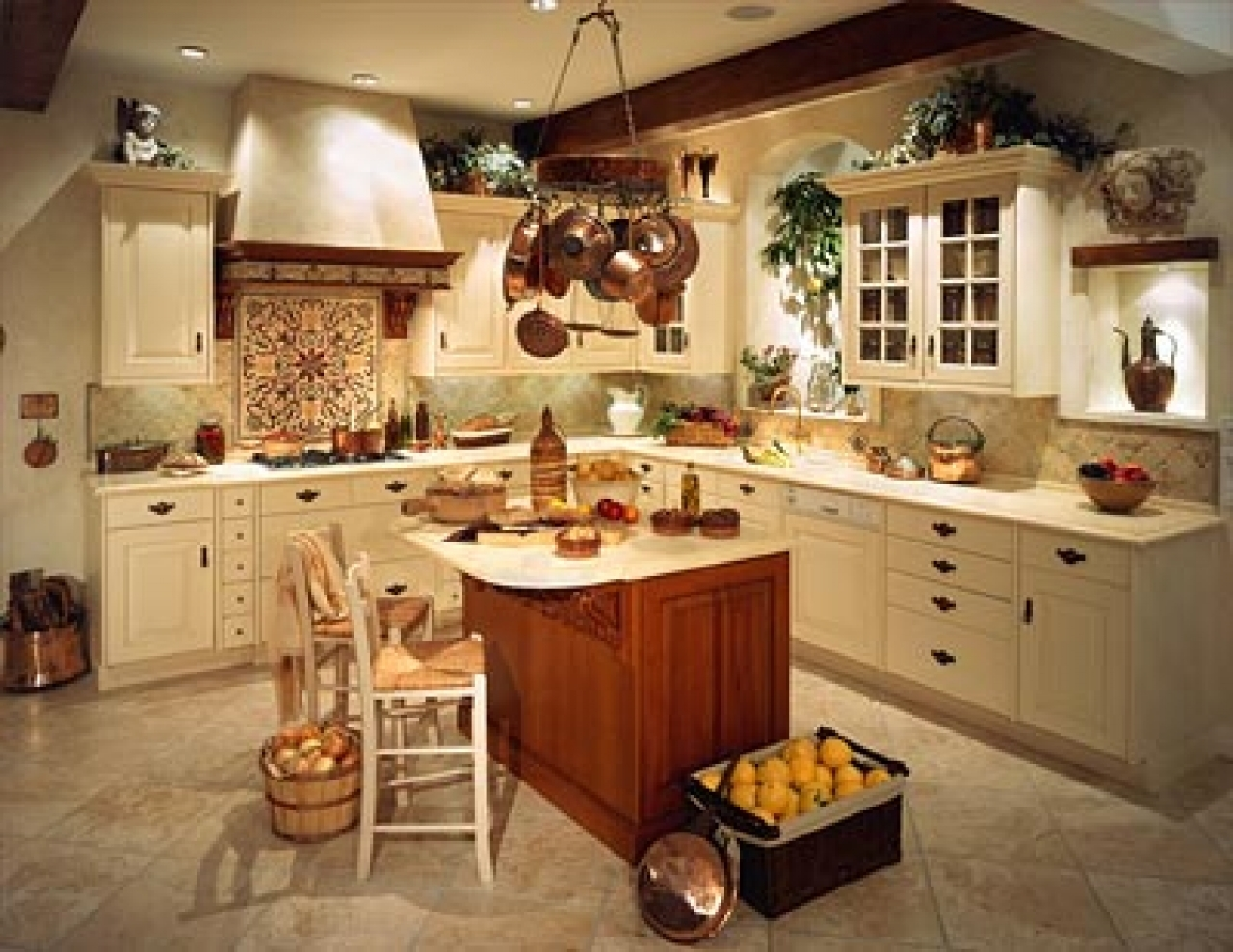 Kitchen Country Decorating Ideas