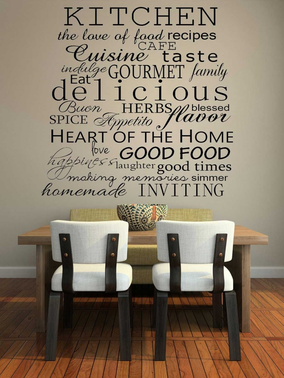 Kitchen Decorations For Walls