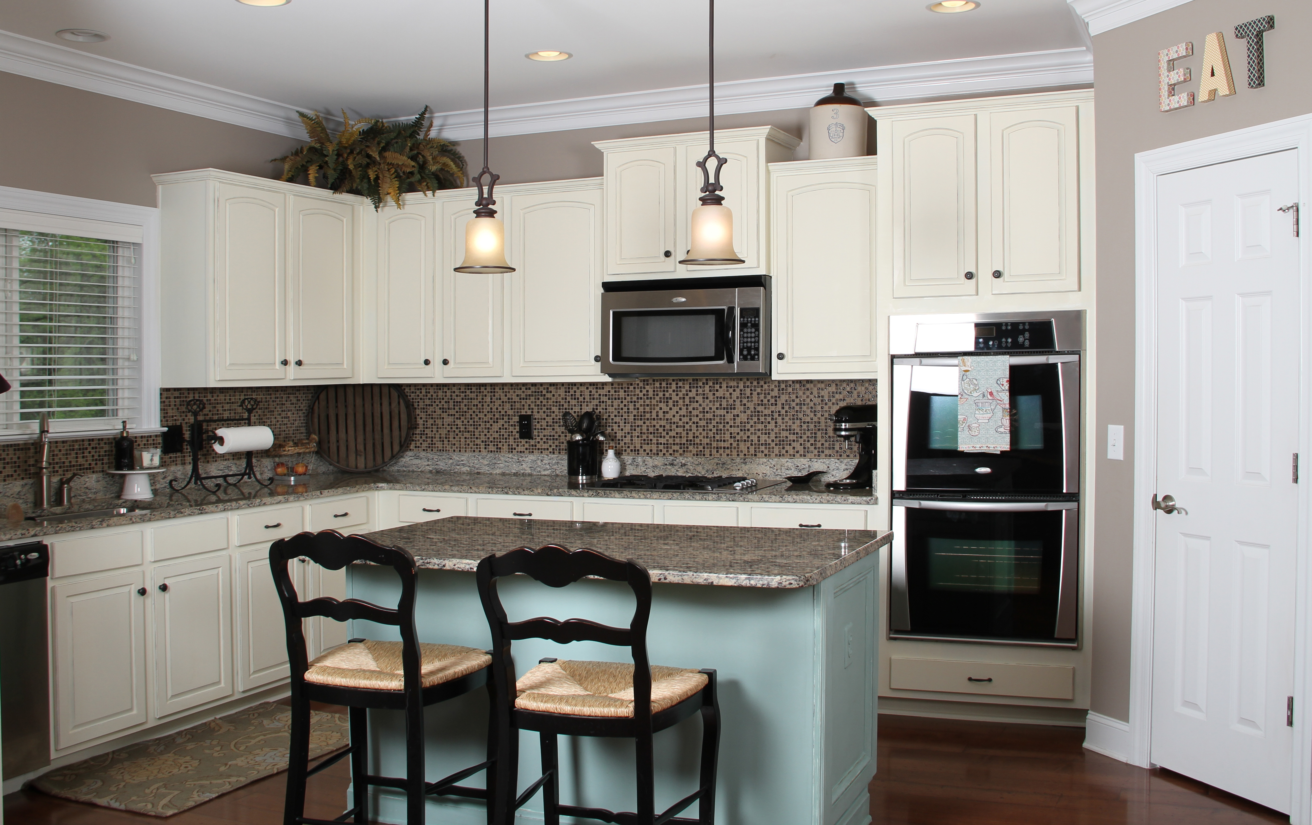 Kitchen Ideas Decorating White Cabinets