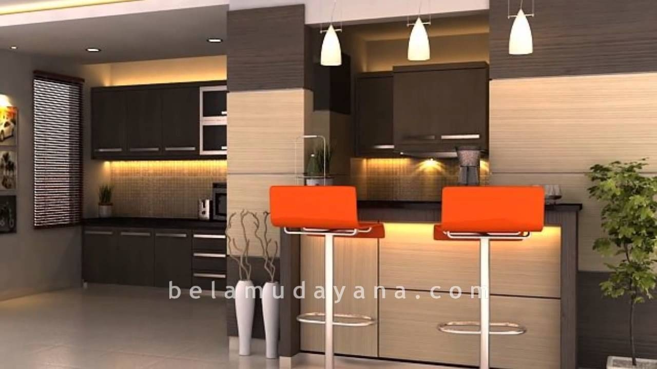 Kitchen Set Mini Bar Minimalis