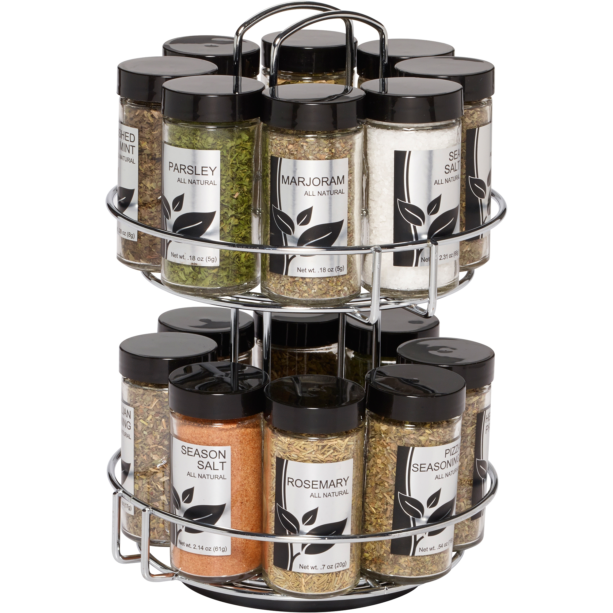 Permalink to Kitchen Spice Rack Set Of Sixteen Pieces