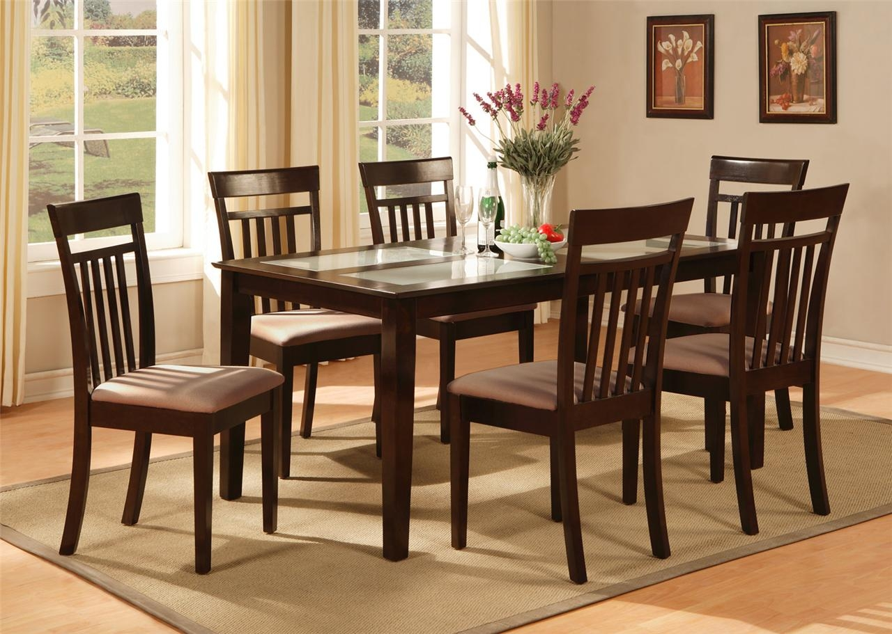 Kitchen Table 6 Chairs Set