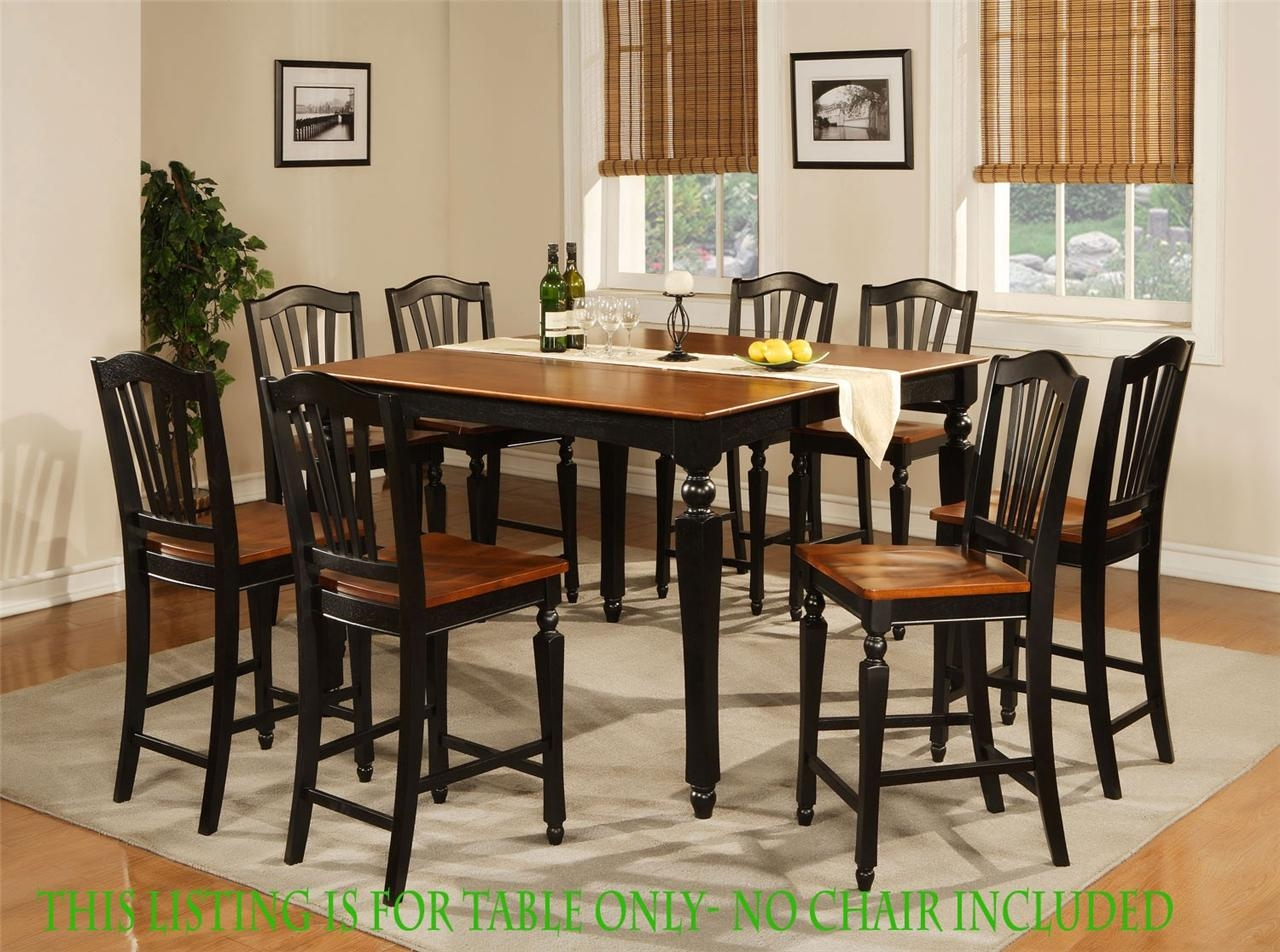 Kitchen Table Sets Bar Height