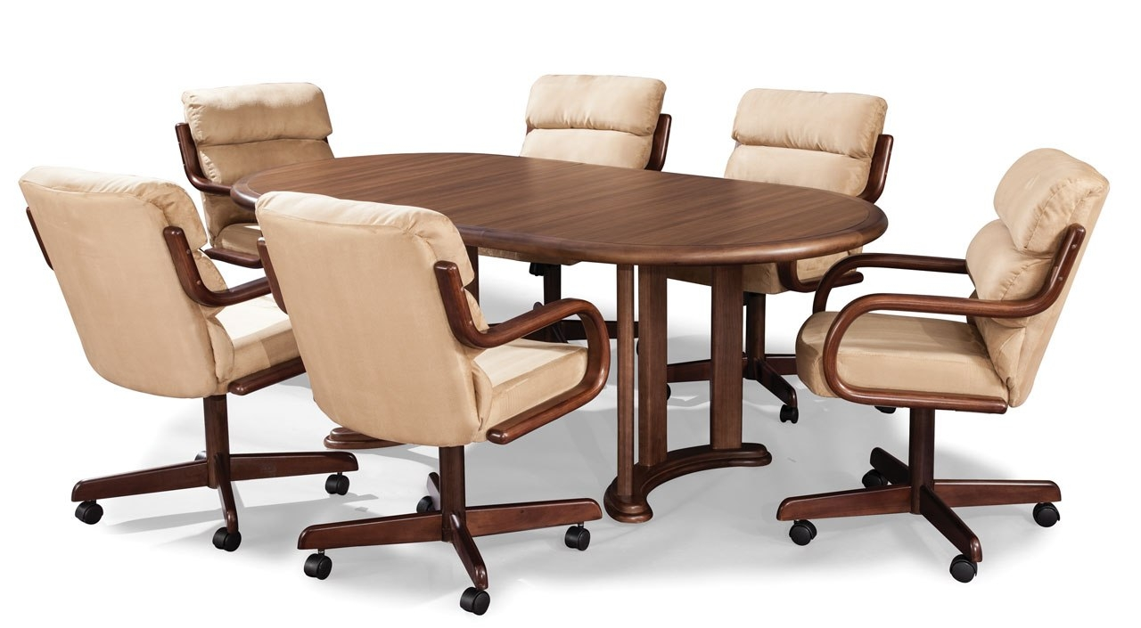 Permalink to Kitchen Table Sets With Caster Chairs