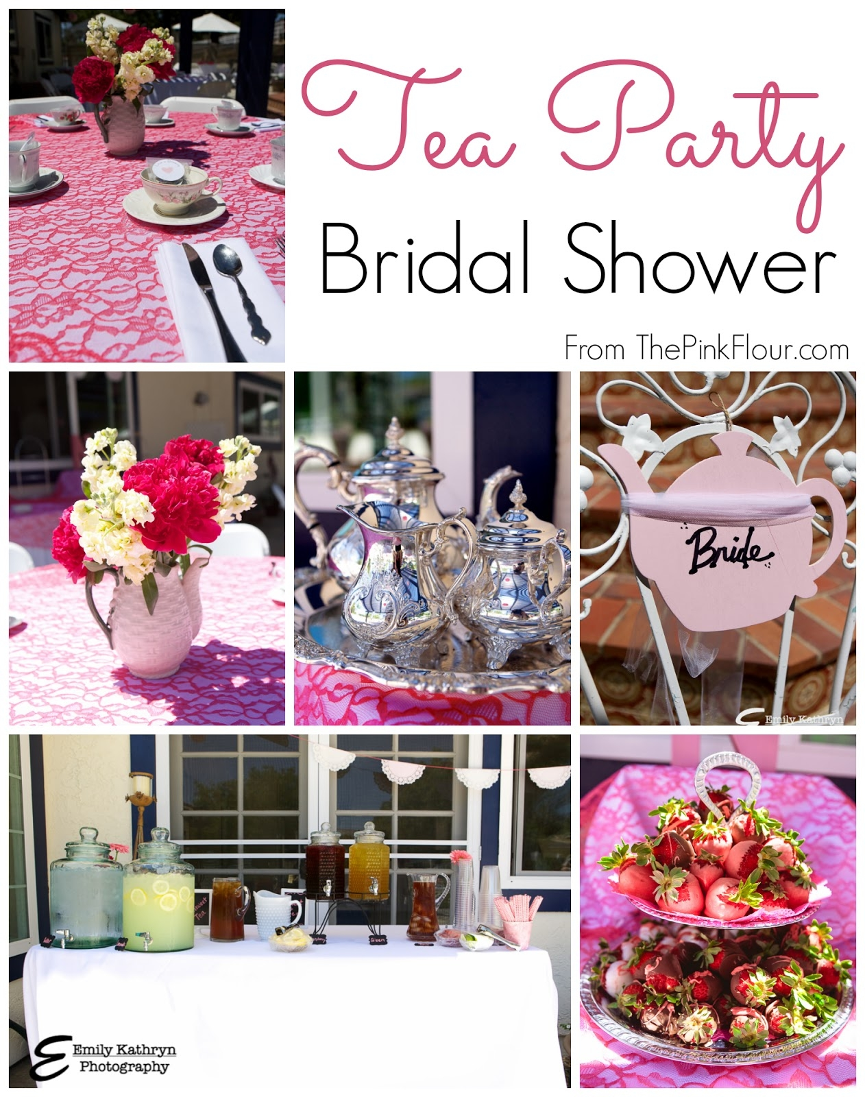 Kitchen Themed Bridal Shower Decoration Ideas