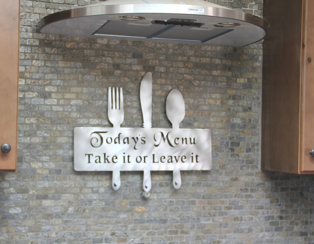 Large Kitchen Utensil Decorations