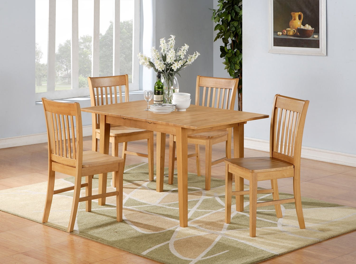 Light Wood Kitchen Table Sets