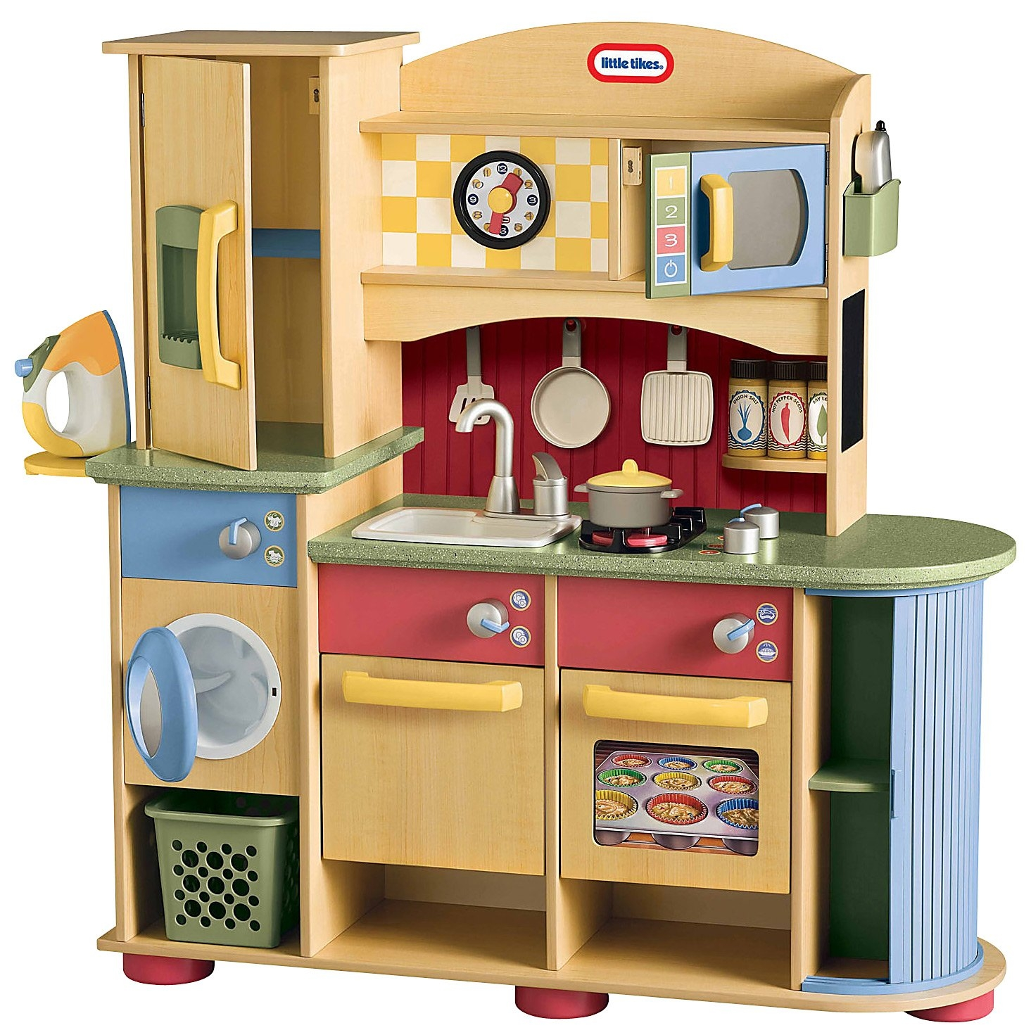 Little Tikes Kitchen Set Wooden