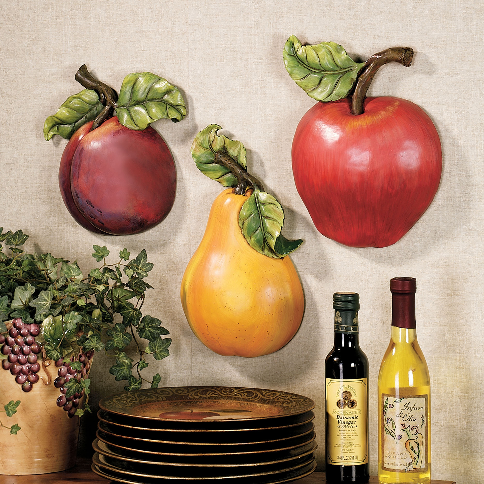 Mixed Fruit Decor For Kitchen