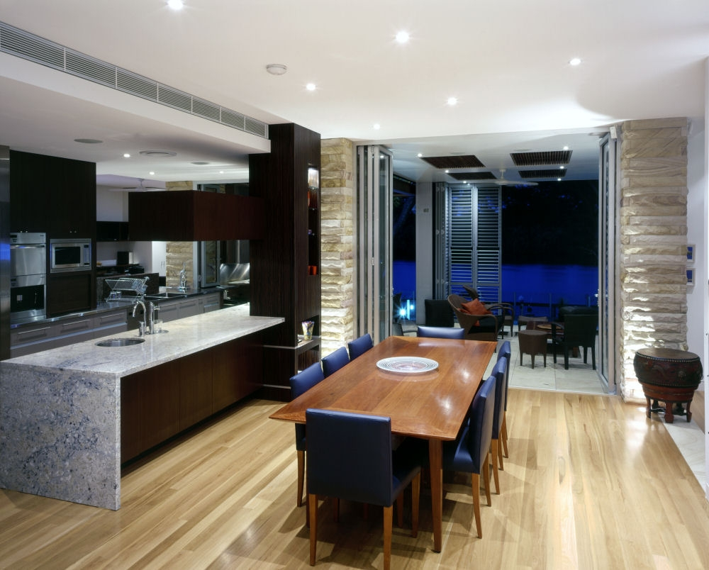Modern Kitchen And Dining Room Decor