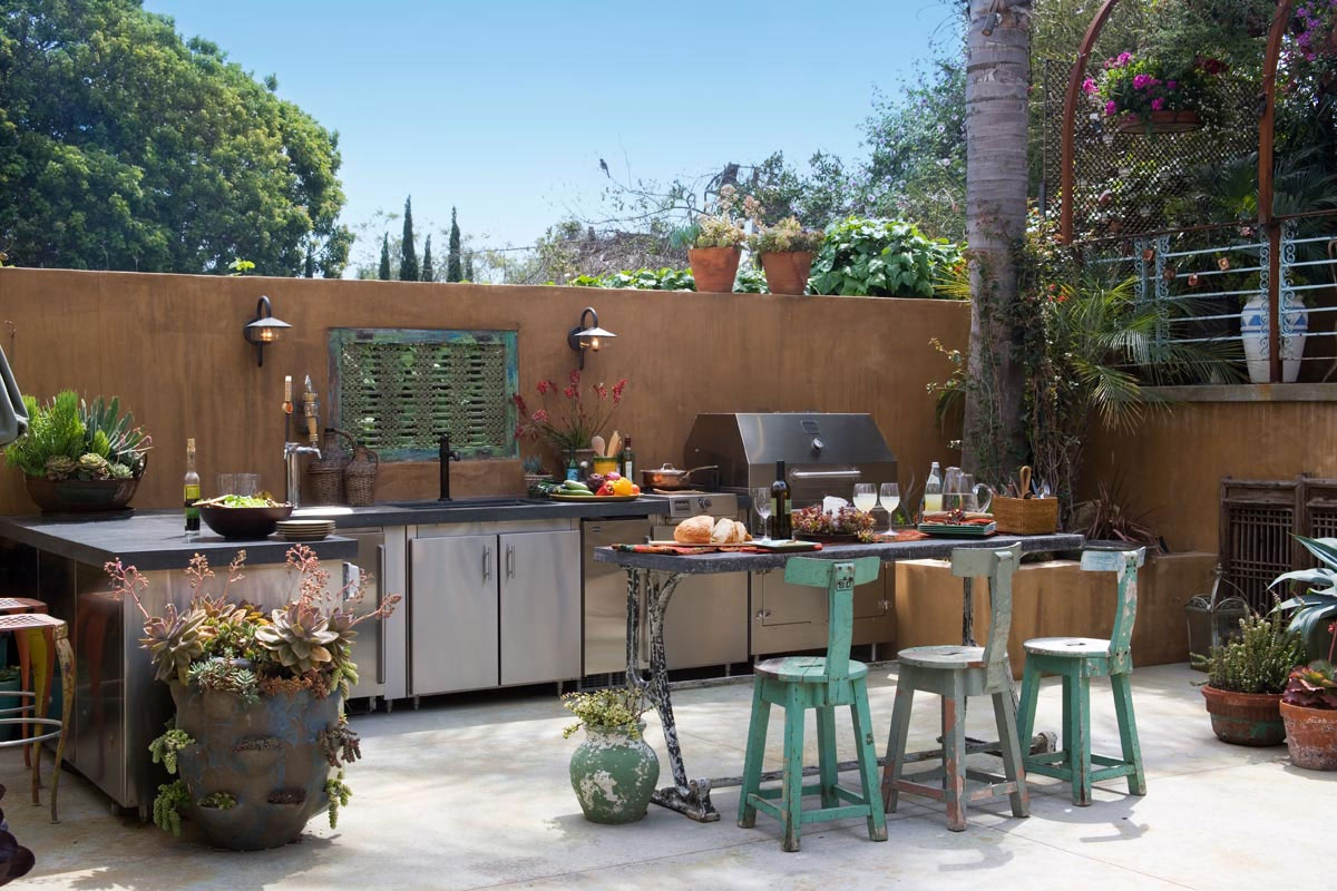 Outdoor Kitchen Wall Decor