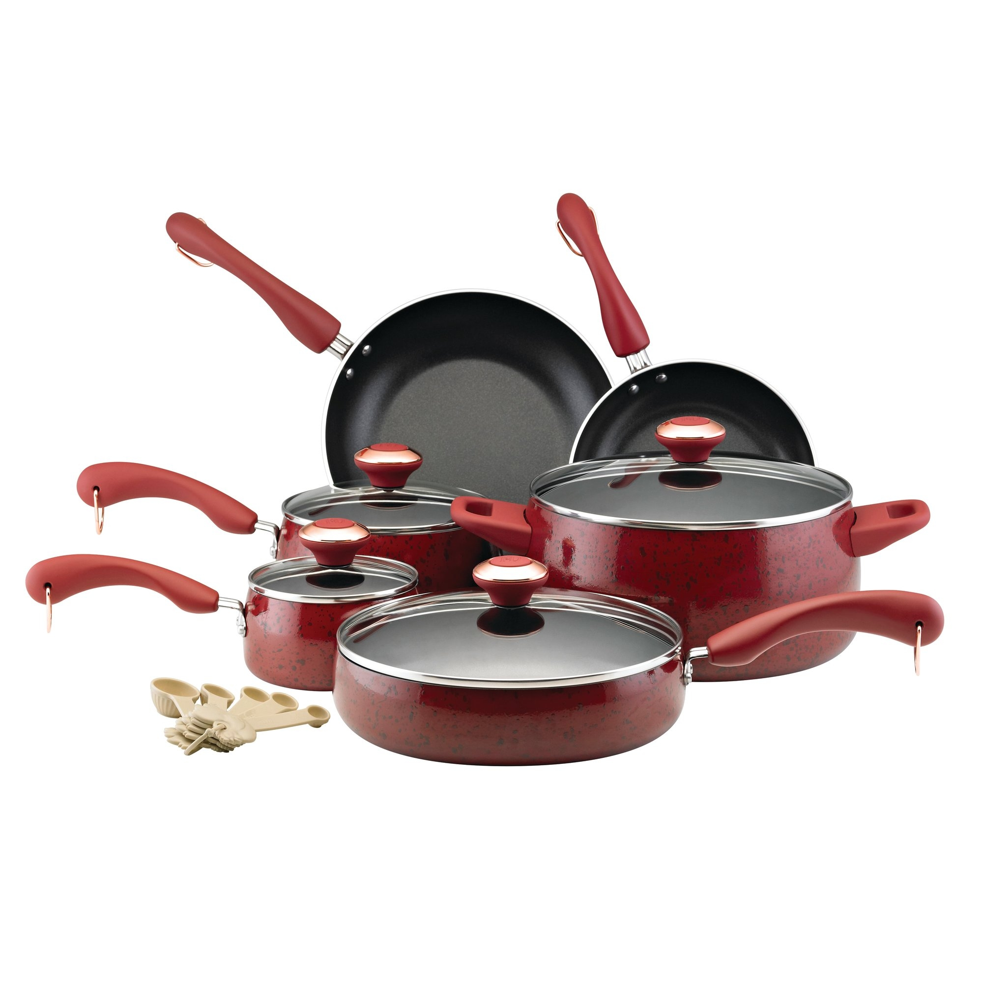 Permalink to Paula Deen 15 Piece Kitchen Cookware Set