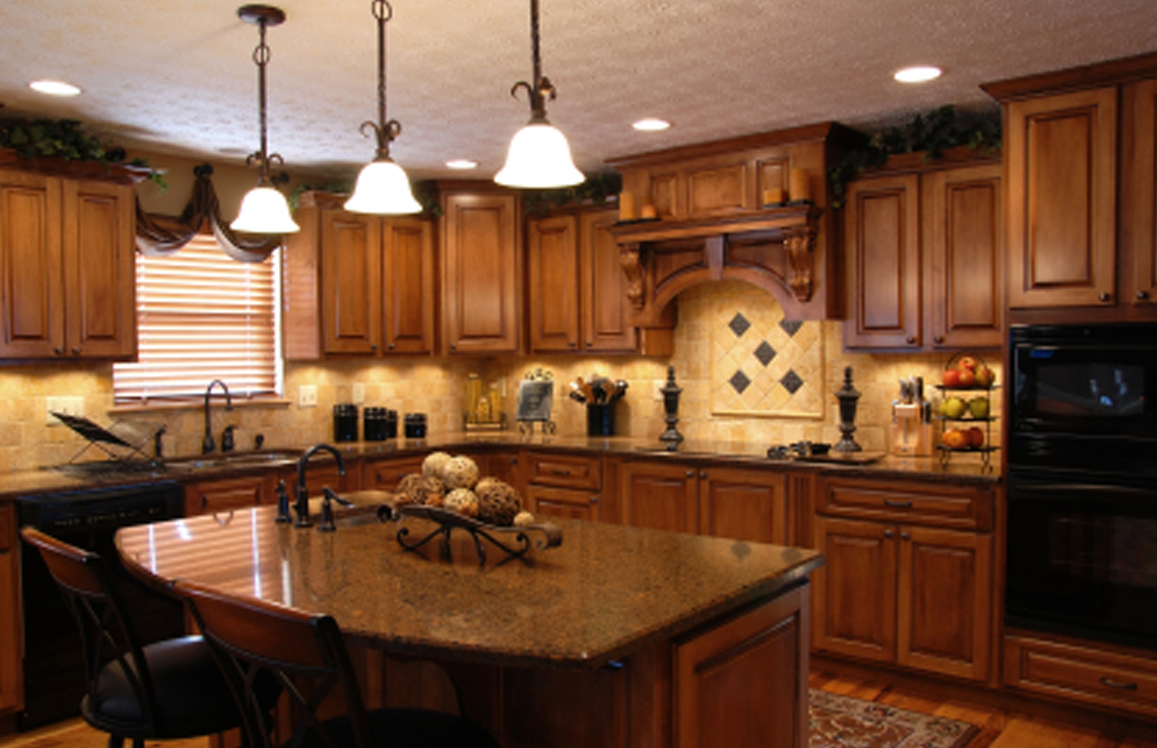 Pictures Of Decorated Kitchen Islands