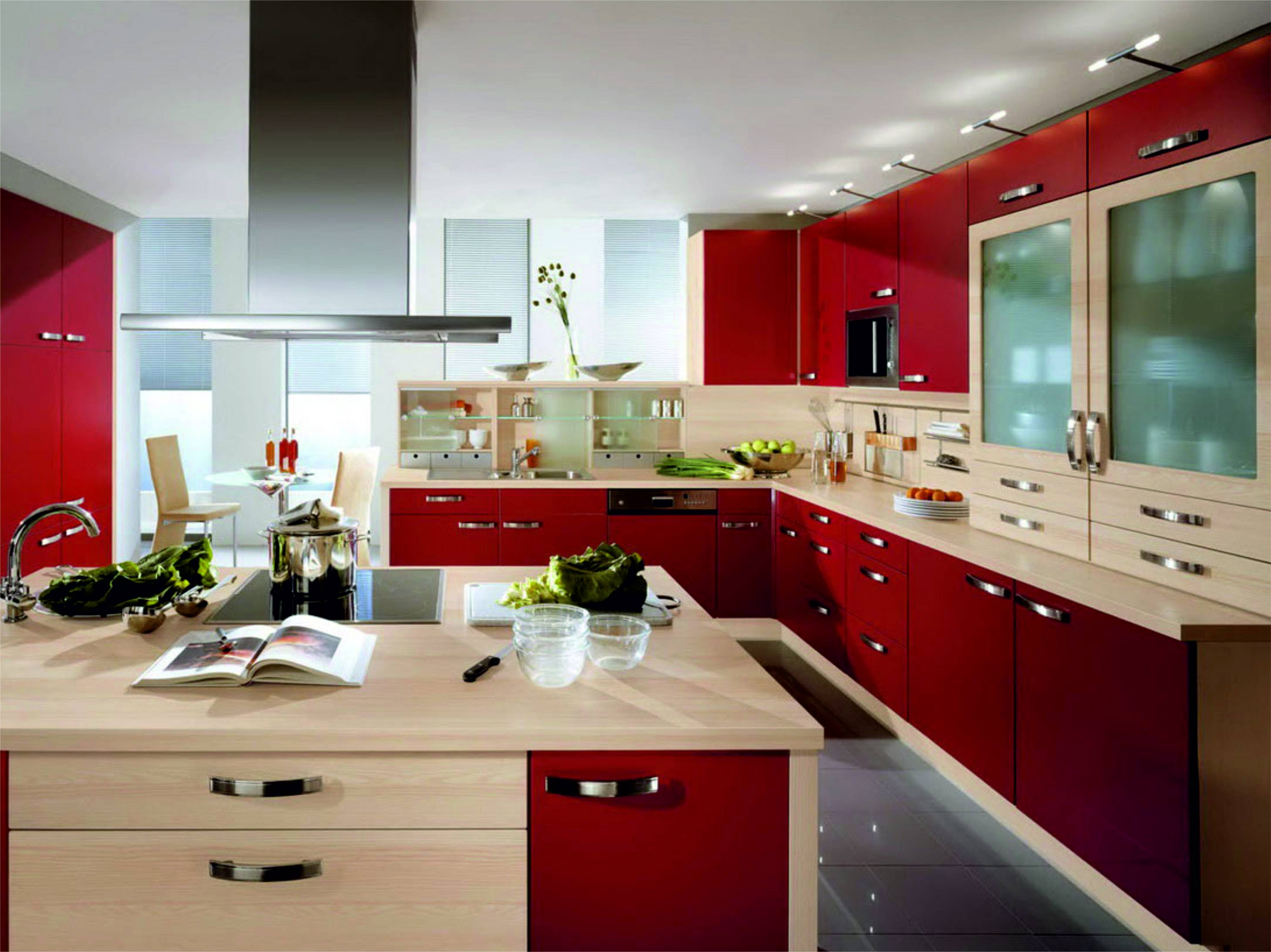 Red And Cream Kitchen Decorating Ideas