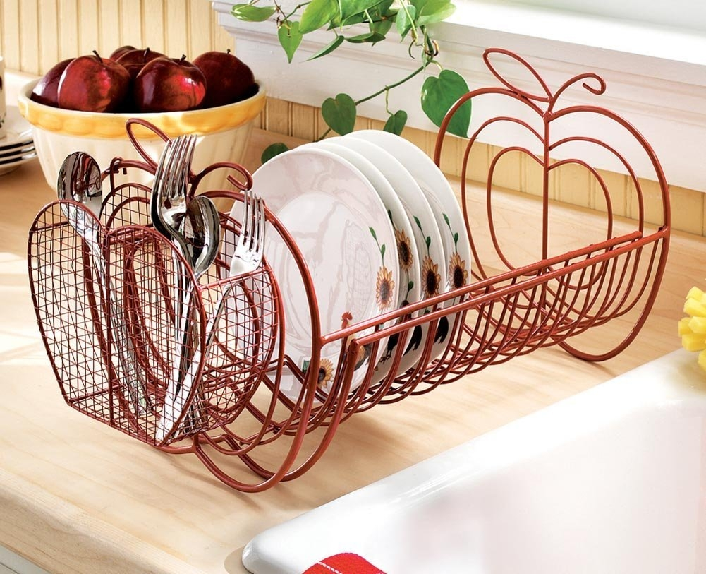 Red Apple Decor For Kitchen