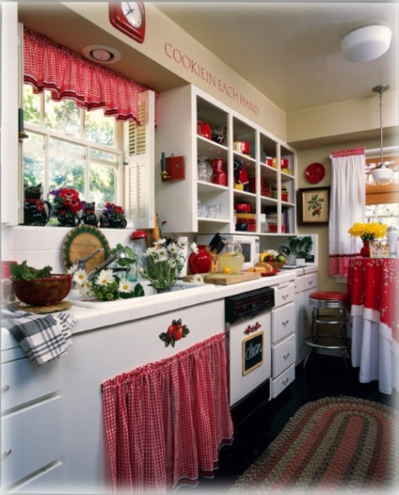 Red Decor Ideas For Kitchen