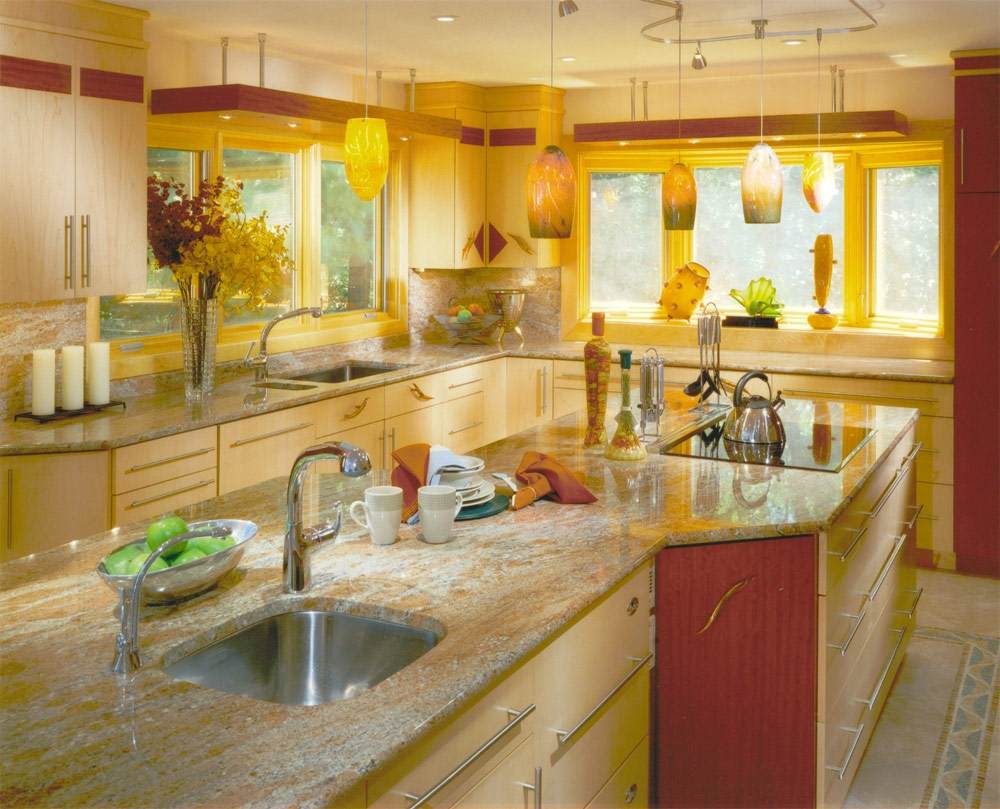 Permalink to Red Green Yellow Kitchen Decor