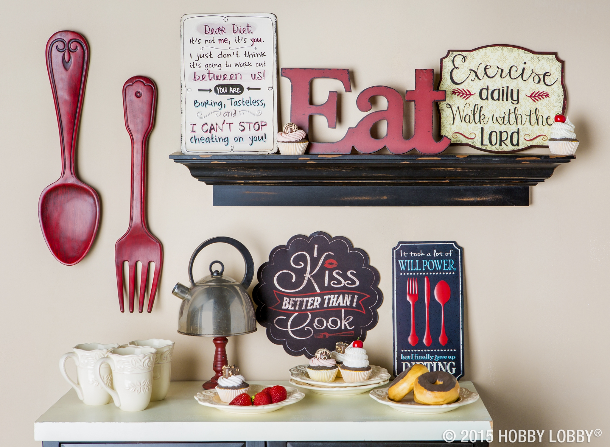 Red Kitchen Decor Items