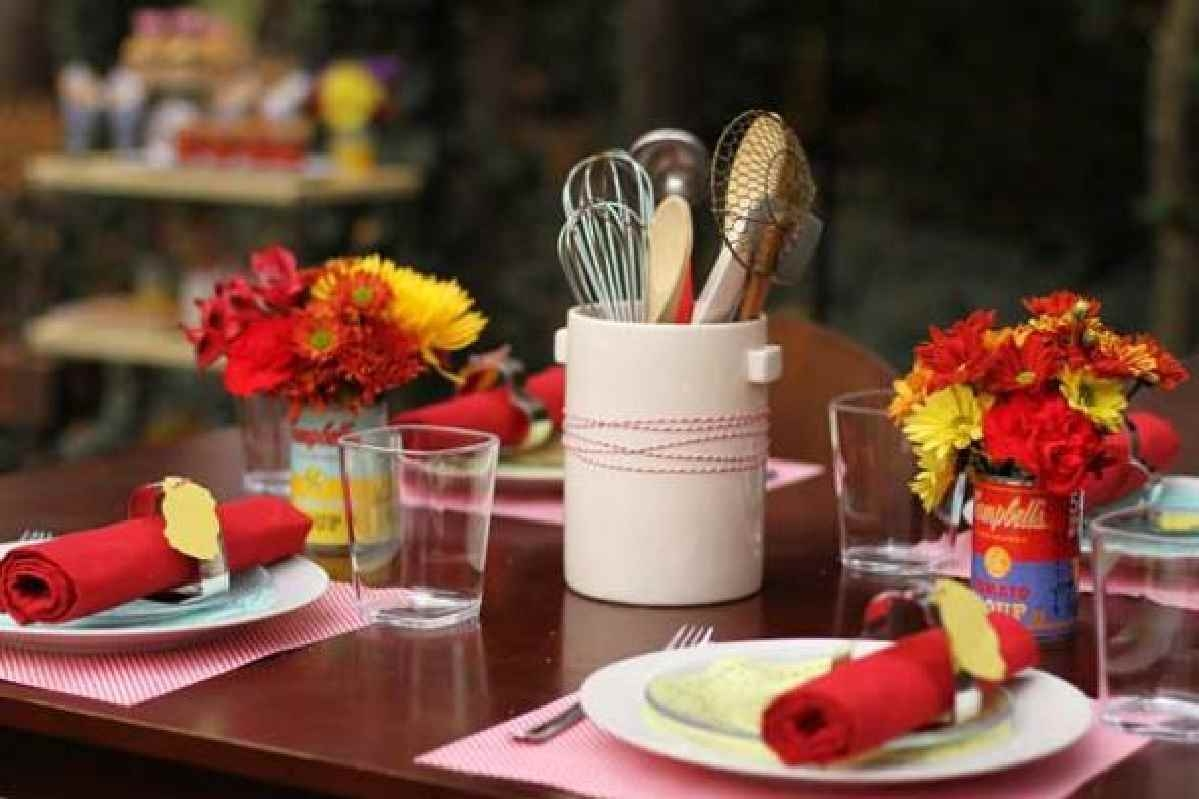 Red Kitchen Party Decorations